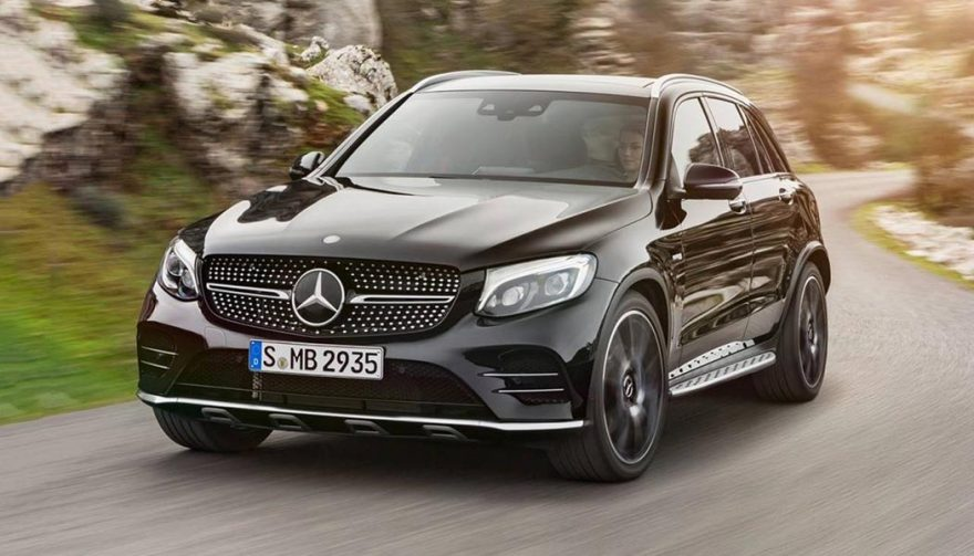 The Mercedes-Benz GLC Class was one of the best selling luxury suvs