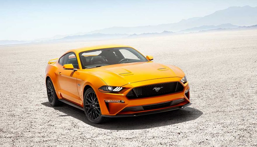 The 2018 Ford Mustang Shelby GT500 is one of the fastest cars under 100K