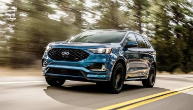 The 2019 Ford Edge ST high performance SUV