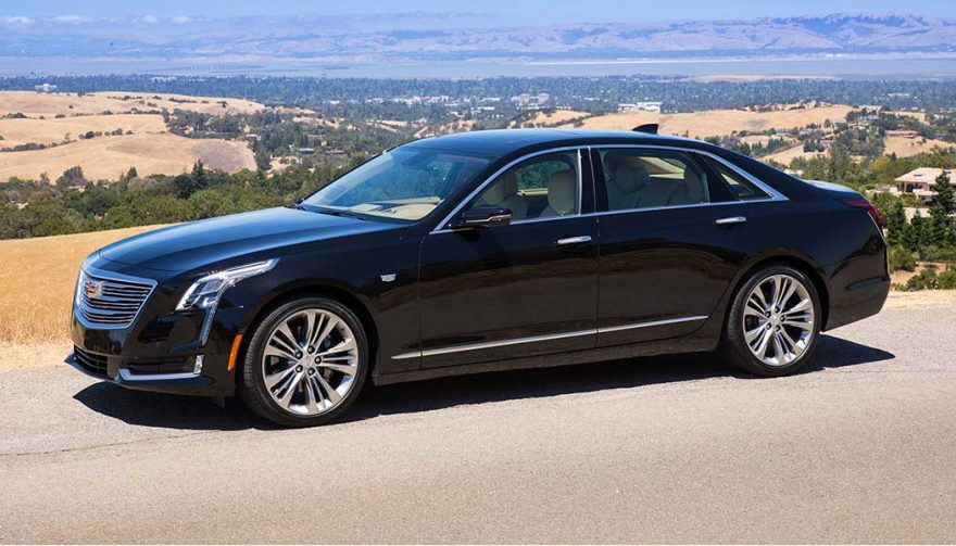 The Cadillac CT6 is one of the best self driving cars