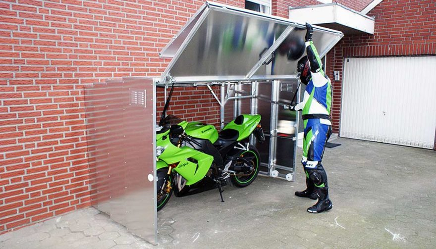 A storage unit is one of the most important motorcycle accessories