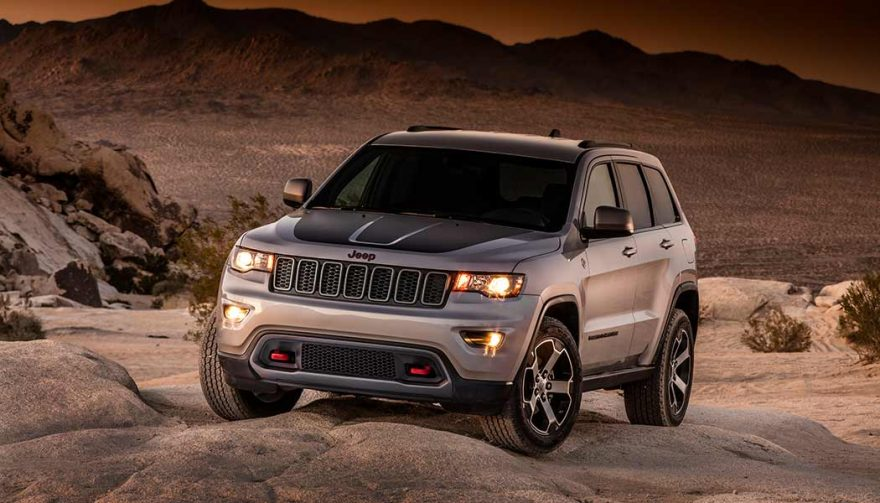 The Jeep Grand Cherokee was one of the best selling SUVs in 2017