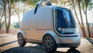 The Nuro self-driving vehicle