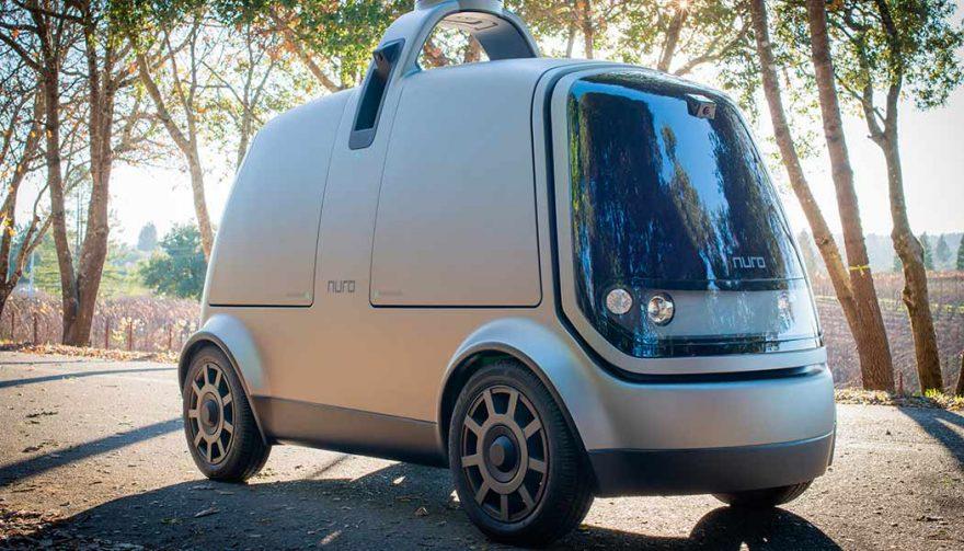 The Nuro self-driving vehicle