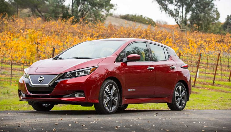 The 2018 Nissan Leaf is one of the best self driving cars