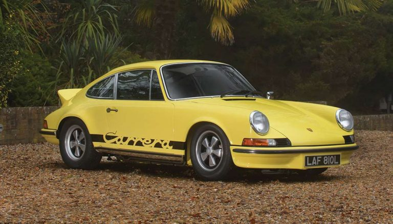 The Porsche 911 Carrera RS 2.7 is one of the best homologation cars