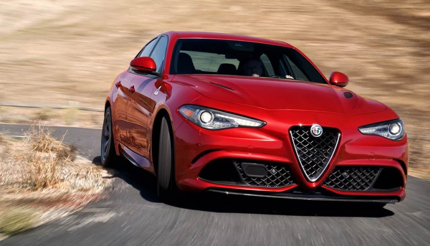 The 2018 Alfa Romeo Giulia Quadrifoglio Is One Of The Fastest Cars Under  100K
