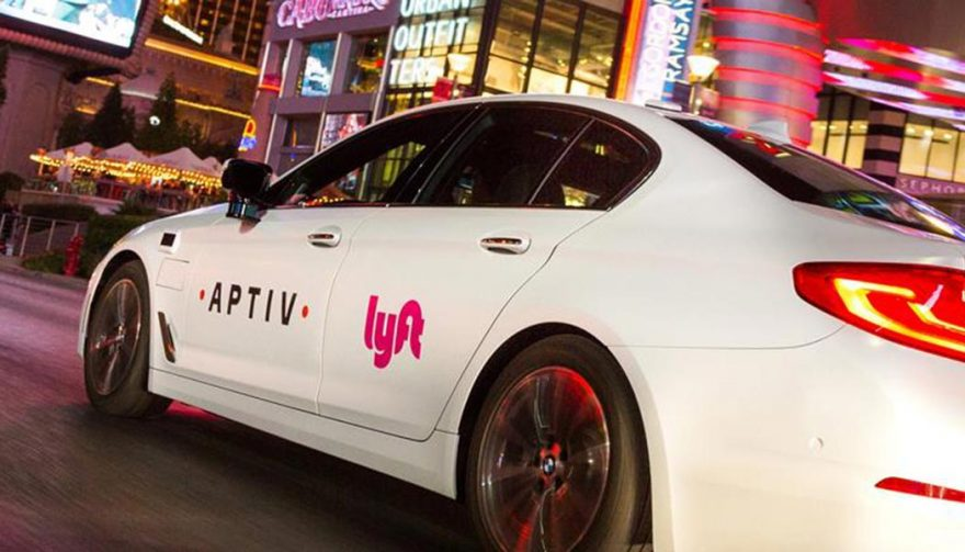 A Self-Driving Lyft is at the CES 2018