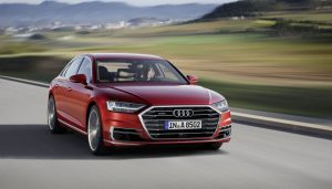 The Audi A8 is one of the best self driving cars