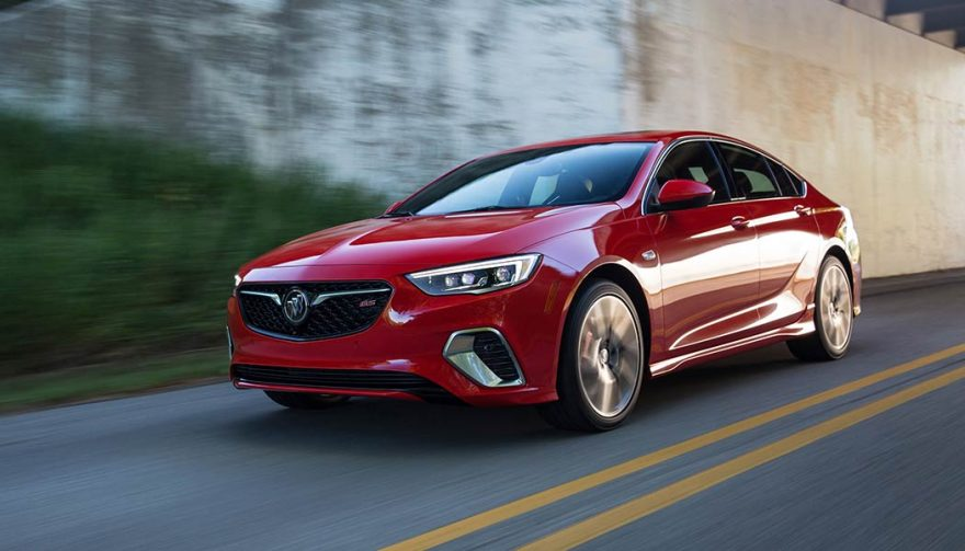 The 2018 Buick Regal GS