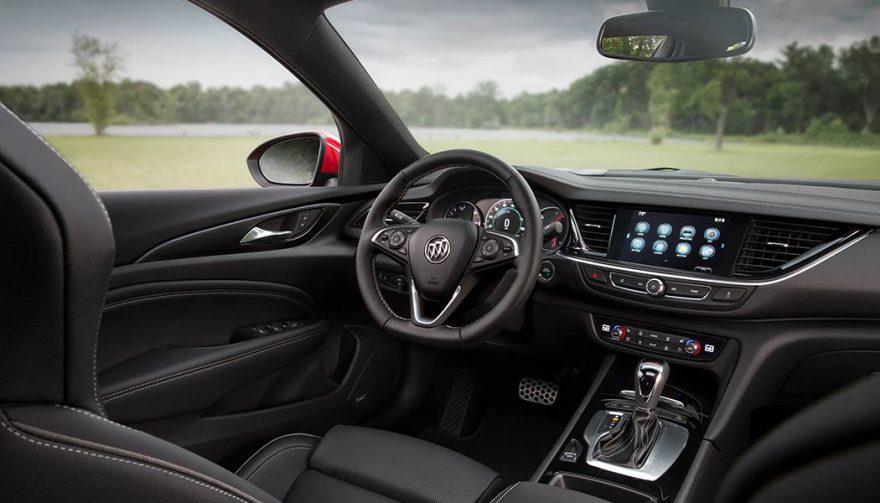 The 2018 Buick Regal GS interior