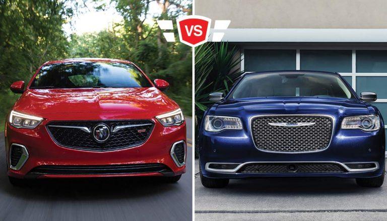 Chrysler 300 vs Buick Regal