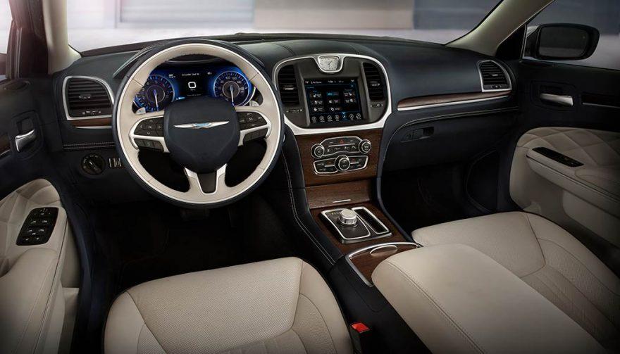 The 2018 Chrysler 300C interior