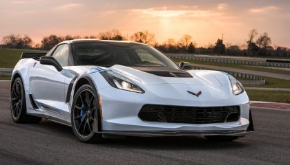 The 2018 Chevrolet Corvette Z06 is one of the fastest cars under 100K