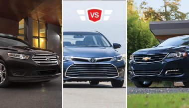 ford taurus vs chevy impala vs toyota avalon