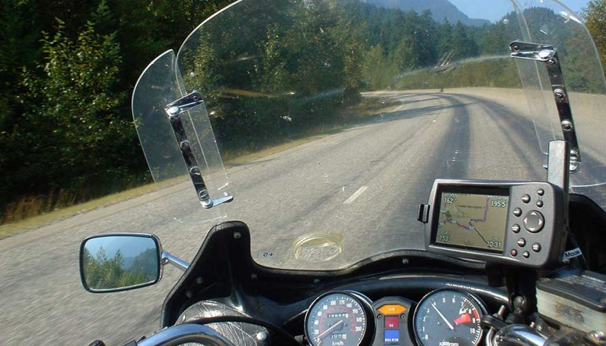 GPS is one of the best motorcycle accessories
