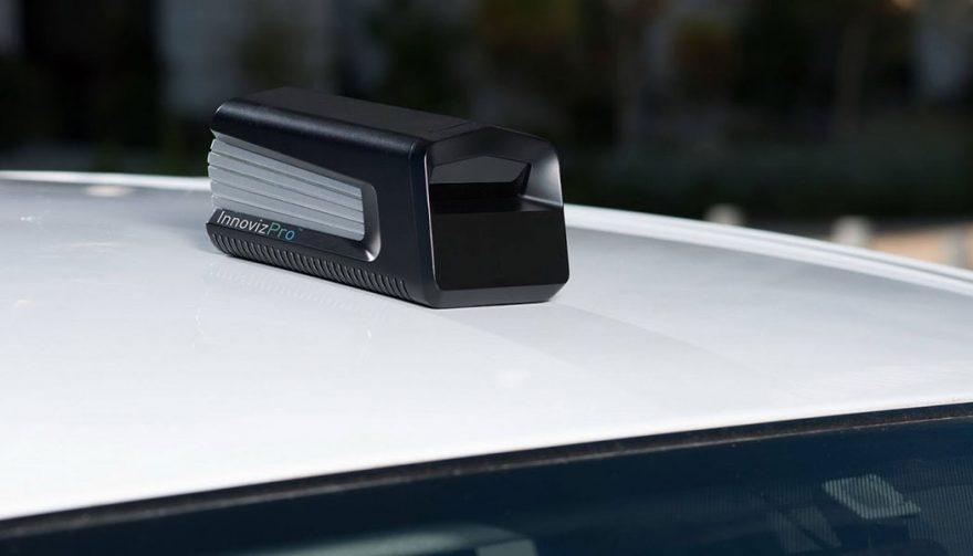 Innoviz LiDAR Sensor at CES 2018