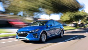 The Hyundai Ioniq is one of the longest range electric car models