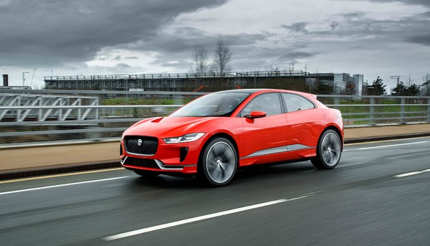 2019 Jaguar I-Pace is one of the longest range electric car models