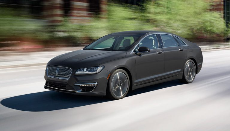 The Lincoln MKZ was one of the best selling luxury cars in 2017