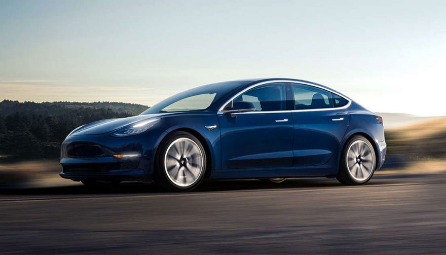 The 2018 Tesla Model 3 is one of the longest range electric car models