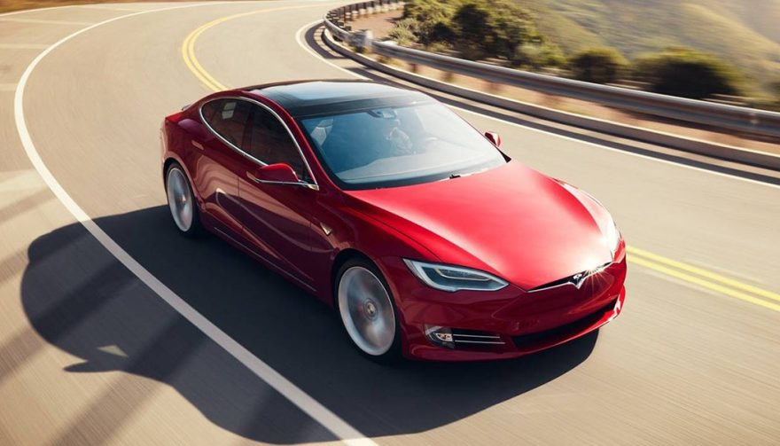 The Tesla Model S is one of the best selling luxury cars
