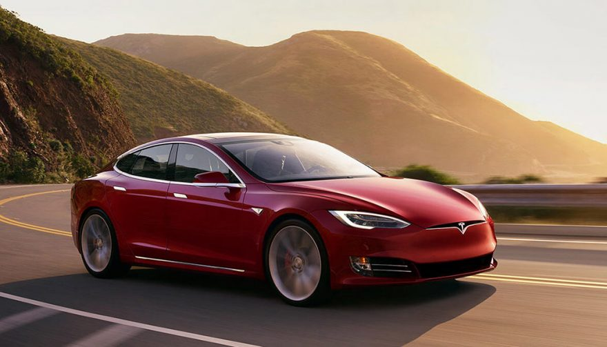 The 2018 Tesla Model S 100D is one of the fastest cars under 100K