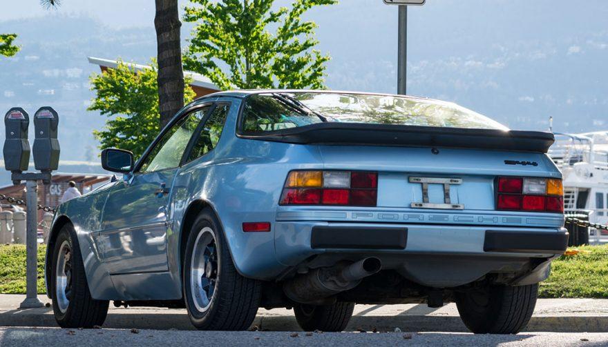 post your ride Porsche 944 rear