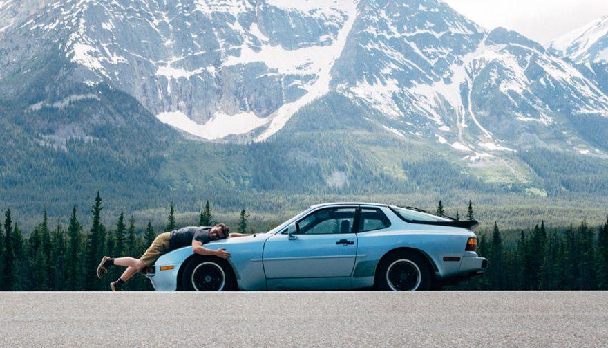 post your ride Porsche 944 side