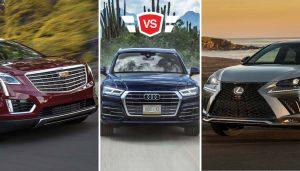 Audi Q5 vs Cadillac XT5 vs Lexus NX