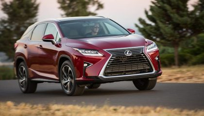 The Lexus RX was one of the best selling luxury SUVs