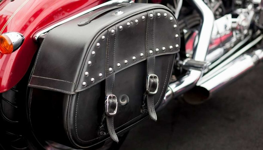 Saddlebags are important motorcycle accessories