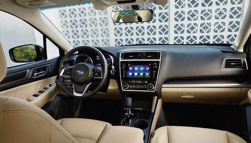 2018 Subaru Legacy 3.6R interior