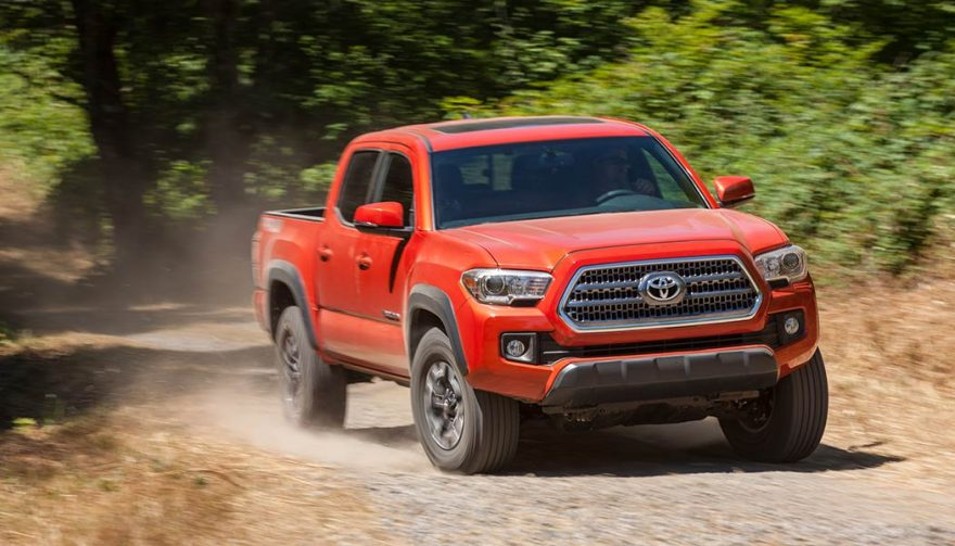 The Toyota Tacoma was one of the best selling trucks in 2017