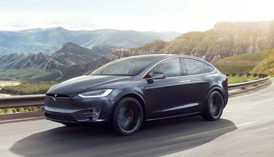 The Tesla Model X had good vehicle sales in 2017
