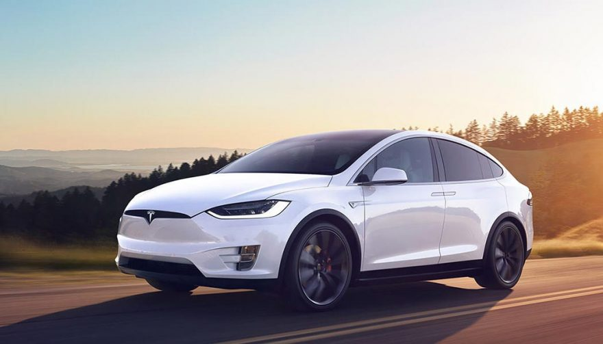 The Tesla Model X is one of the best self driving cars