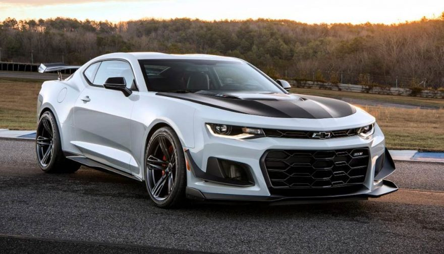 The 2018 Chevrolet Camaro ZL1 is one of the fastest cars under 100K