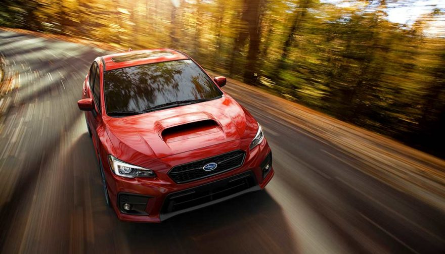 The 2018 Suburu WRX is one of the fastest cars under 30K