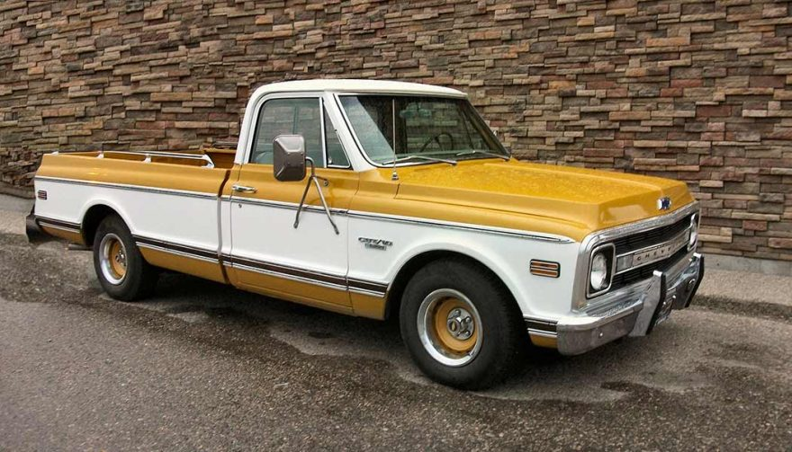 Good project cars for beginners include the Chevy C-10 Pickup