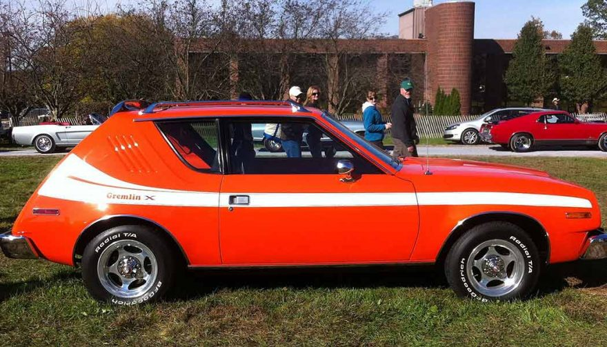 Good project cars for beginners include the AMC Gremlin