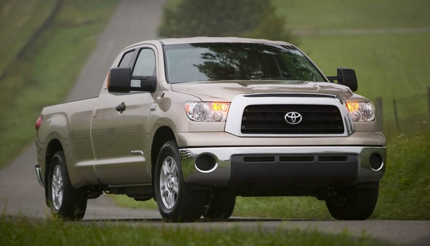 The Toyota Tundra is the best used truck
