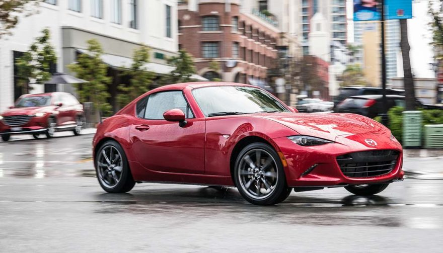 The Mazda MX-5 Miata was one of the best selling sports cars in 2017