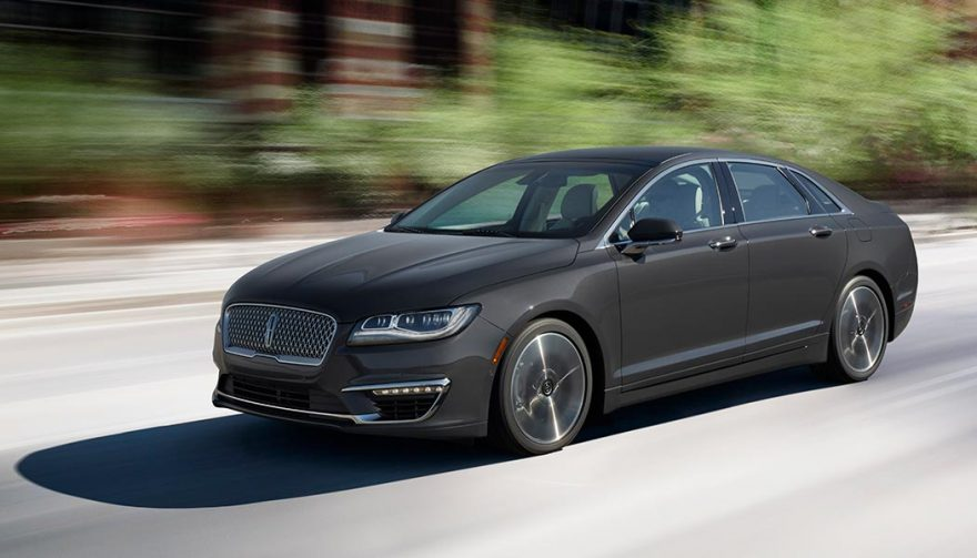 The 2018 Lincoln MKZ