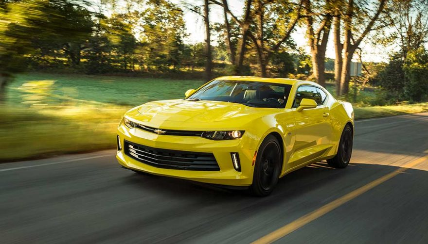 The 2018 Chevrolet Camaro 1LS is one of the fastest cars under 30K