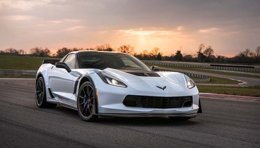 tHE Chevrolet Corvette was one of the best selling sports cars in 2017
