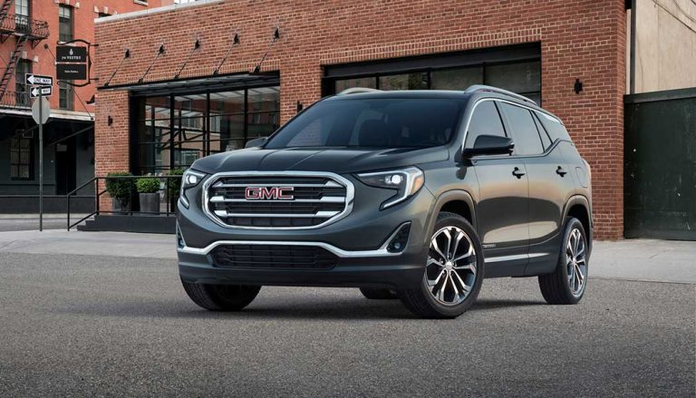 The 2018 GMC Terrain diesel