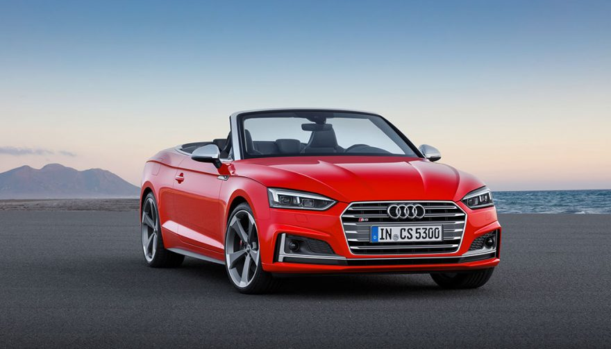 The Audi A5 was one of the best selling sports cars in 2017