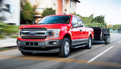 The Ford F-150 could be the best truck for towing