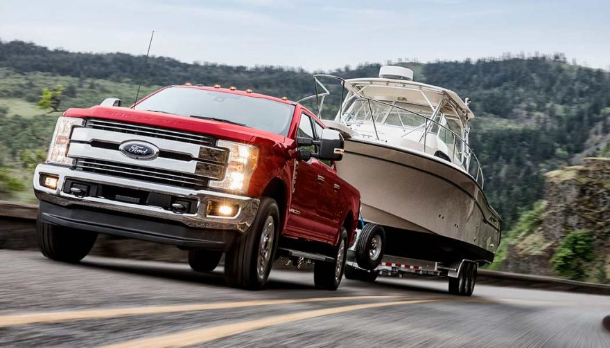 The Ford F-250 Super Duty could be the best truck for towing