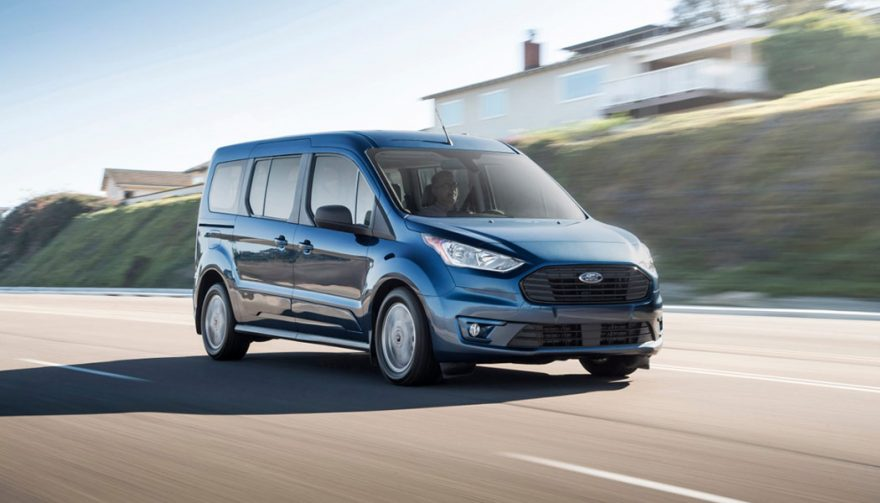 The Ford Transit Connect Wagon at the Chicago Auto Show